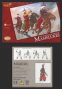 HaT 1.72 scale (20mm) 8001 Napoleonic French Mamelukes 1805 (x 12 mtd figs)